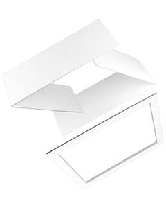 Ubbink Interieur afwerkrand plano 400mm wit