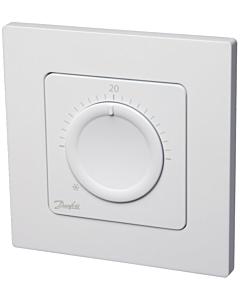 Danfoss Icon kamerthermostaat 230V draaischijf wand inbouw