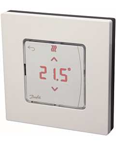 Danfoss Icon kamerthermostaat 230V display wand opbouw