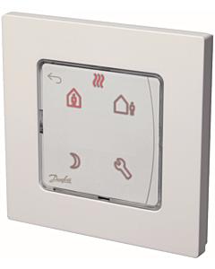 Danfoss Icon kamerthermostaat 230V display program. wand inbouw
