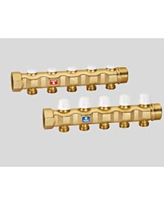 """Caleffi collector 1.1/4"""" x 3 aansluitingen 3/4"""""""