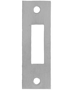 AXA sluitplaat kastslot L/R rvs