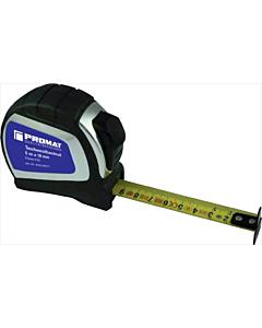 Promat rolbandmaat rubber 19 mm 5 m