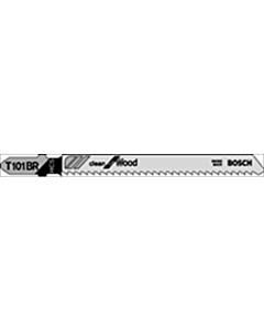 Bosch decoupeerzaagblad  T101BR spaanplaat 2.5 x 75 mm 5 stuks