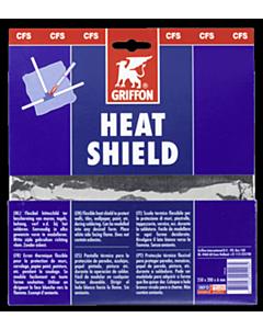 Griffon hitteschild glasvezeldoek asbestvrij 19x25 cm