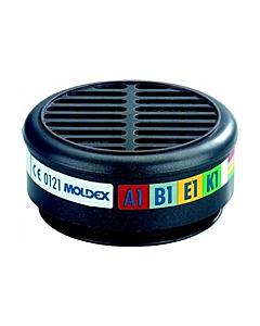Moldex gasfilter A1B1E1 voor masker 8002
