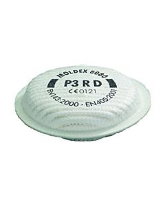 Moldex filterkussen 8080 P3D stof/viru voor masker 8002