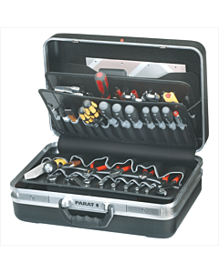 Parat gereedschapskoffer 481-171 zwart 460x310x165 mm