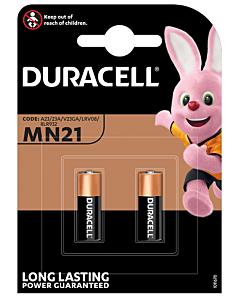 Duracell batterij MN21Secu 12V blister à 2 stuks