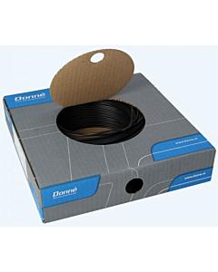 Donne installatiedraad VD/Eca  1.5 mm2 rol 100 m zwart
