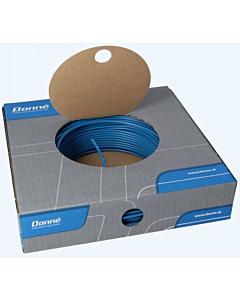 Donne installatiedraad VD/Eca  2.5 mm2 rol 100 m blauw