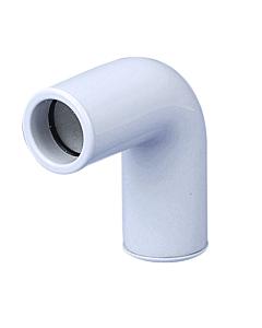 Airco condensafvoer bocht 90° star wit Ø 25 mm