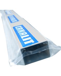 Canalit kabelkanaal verpakt wit 40 x 40 mm lengte 2 m