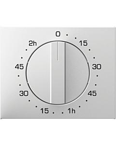 Berker K.1 centraalplaat mech.tijdschakelaar 120 min wit