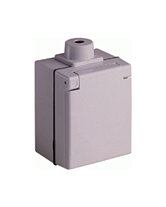 ABL Sursum perilex wandcontactdoos 16A opbouw ip44 grijs