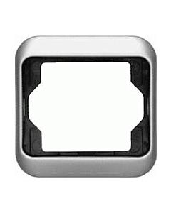 B-J Alpha afdekraam 1-voudig platin