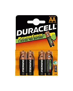 Duracell batterij MX1500 AA 1.5V 4 stuks