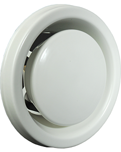 Itho afzuigventiel metaal MLV Ø 125 mm wit