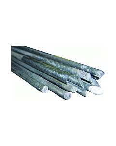 Aardelektrode gegalvaniseerd Ø 12.5 mm 300 cm