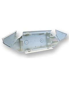 ABB Hafobox wandgootdoos universeel 2-voudig 220V