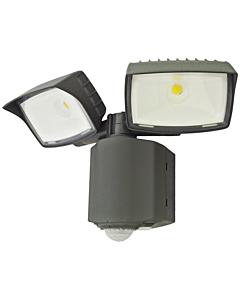 Klemko Wallie LED-buitenlamp met PIR 2x16W