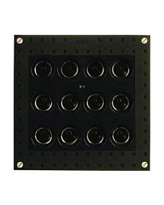 ABB Hafonorm smeltveilighedenkast HRZ12 4-krachtgroep 25 A