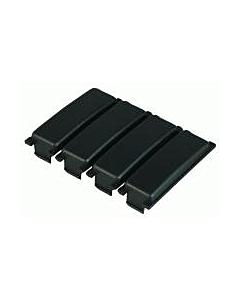 ABB Hafonorm afdekprofiel kast/lessenaar 4-modules per 3 stuks