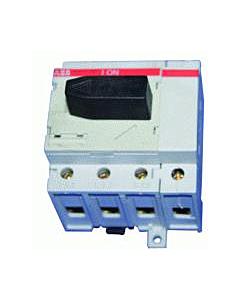 ABB Hafonorm hoofdschakelaar 40A 4-polig met draad