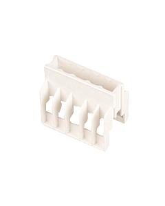 ABB Hafonorm afdekkap aansluitklem 5-voudig (220x330)