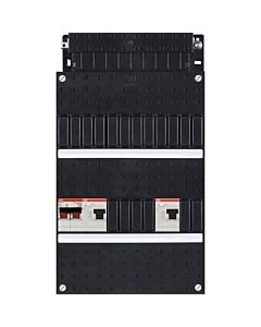 ABB Hafonorm basiskast 1-fase 1xHS 2P 2xALS 2P HAD3030-22+H42